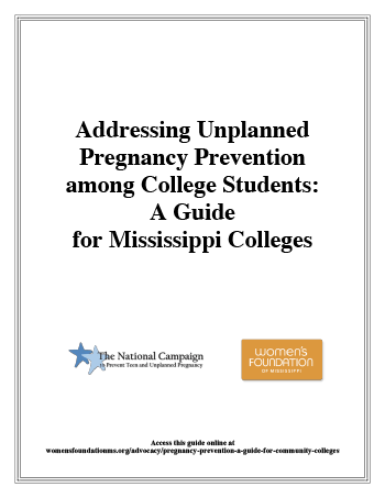 Addressing Unplanned Pregnancy Prevention among College Students