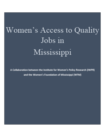Women's Access to Quality Jobs Full Report